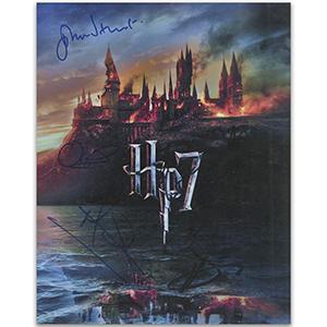 Harry Potter & The Deathly Hallows (5 Signatures) Inc Gary Oldman, John Hurt