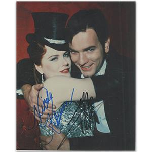 Nicole Kidman & Ewan McGregor Autograph Signed Photograph