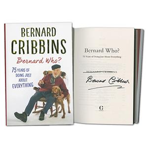 Bernard Cribbins Signed Book