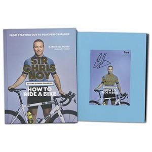 Sir Chris Hoy Signed Book