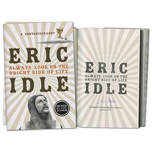 Eric Idle Signed Book
