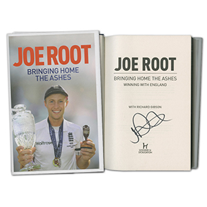 Joe Root Signed Book