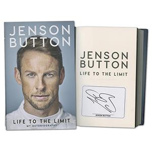 Jenson Button Signed Book