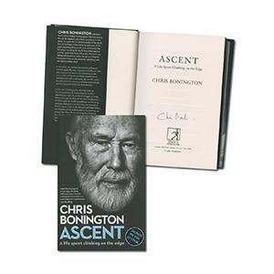 Chris Bonnington Signed Book
