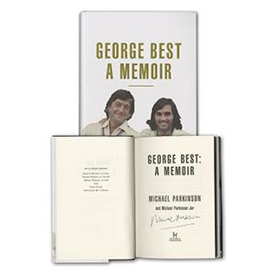 Michael Parkinson Signed Book