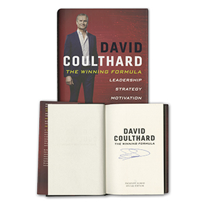 David Coulthard Signed Book