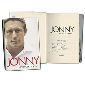 Jonny Wilkinson Signed Book