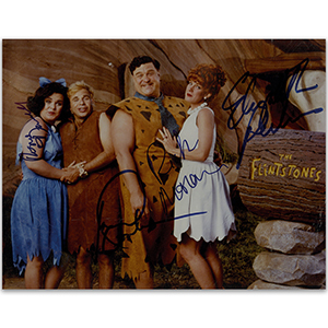 The Flintstones (framed)