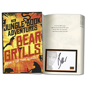 Bear Grylls Signed Book