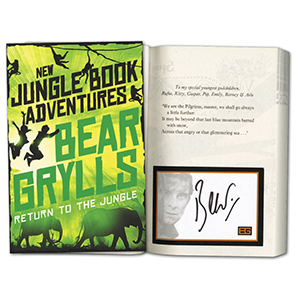 Bear Grylls Signed Book