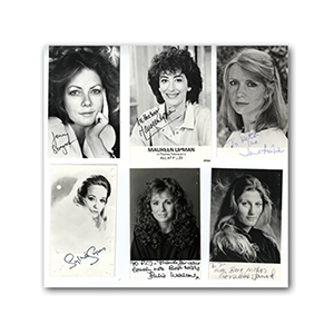 Actresses Collection of Autographs (10)