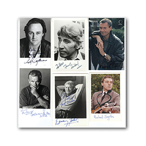 Actors Collection of Autographs (10)