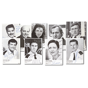 The Bill Early Cast Autographs (30)
