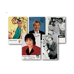 TV Presenters & Newsreaders Autographs (25)