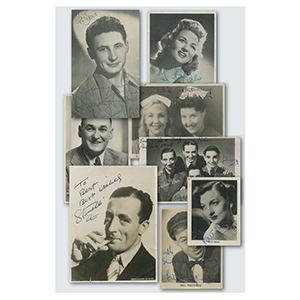1930-50s Entertainers (Signed & Unsigned)