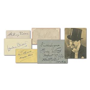 Autograph Book 50+ Signatures