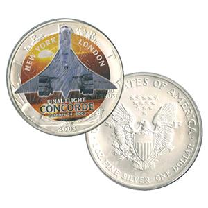 Concorde Silver Dollar