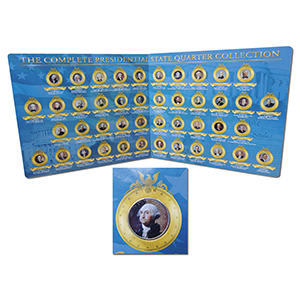 Franklin Mint Presidential Quarter Collection