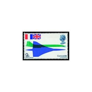 GB 1969 9d Concorde, phosphor omitted. Fine u/m, difficult stamp. SG 785EY