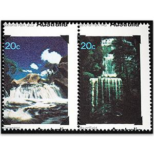 1979 20c National Parks misplaced perfs u/m horiz pair
