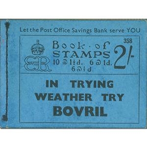 BC2 1936 Edward VIII 2/- Booklet
