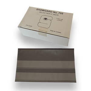 Showgard 2 Strip Stockcards 145 x 85mm (Per 100)