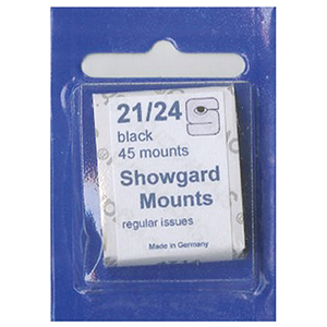 Showgard Mounts 21 x 24mm Black (Per 45)