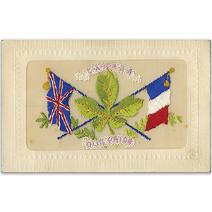 WWI embroidered postcard - Canada Our Pride