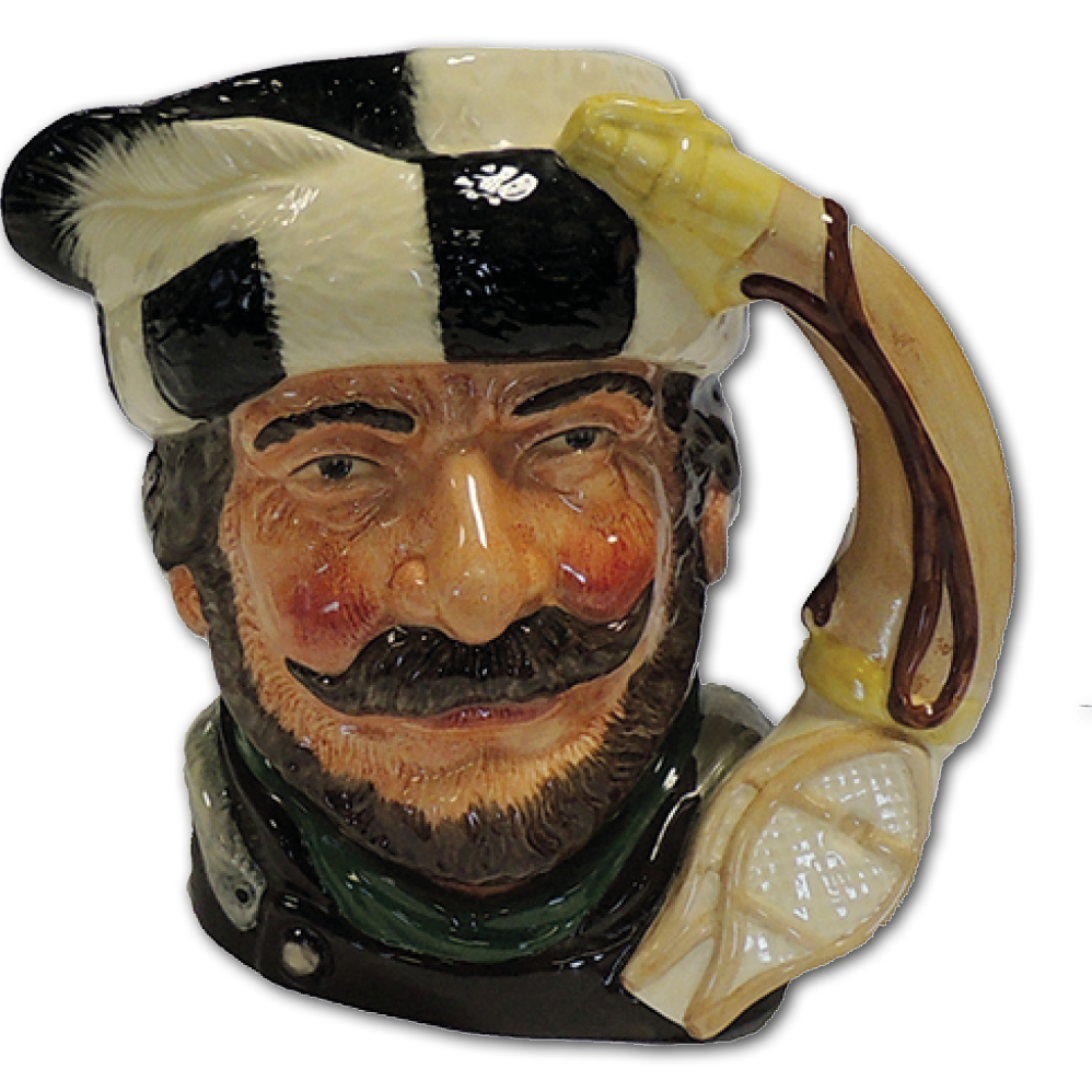 Royal Doulton - Toby Jug - Trapper - China & Glass - Collectables